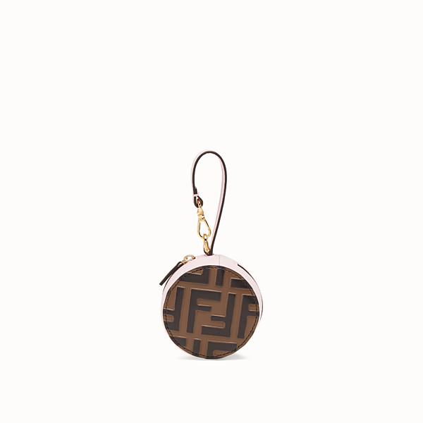 FENDI TOTE BAG CHARM - Pink leather charm - view 1 small thumbnail