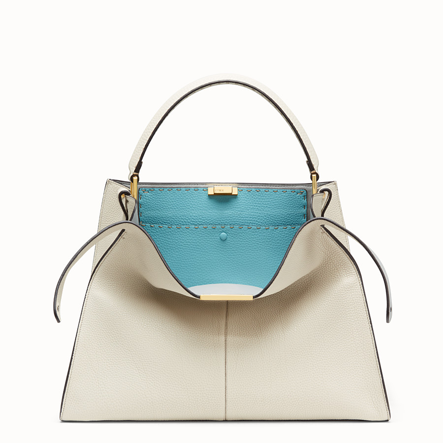 FENDI PEEKABOO X-LITE LARGE - Fendi Roma Amor leather bag - view 1 detail