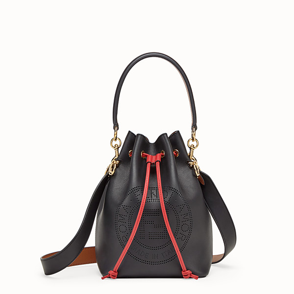 FENDI MON TRESOR - Black leather bag - view 1 small thumbnail