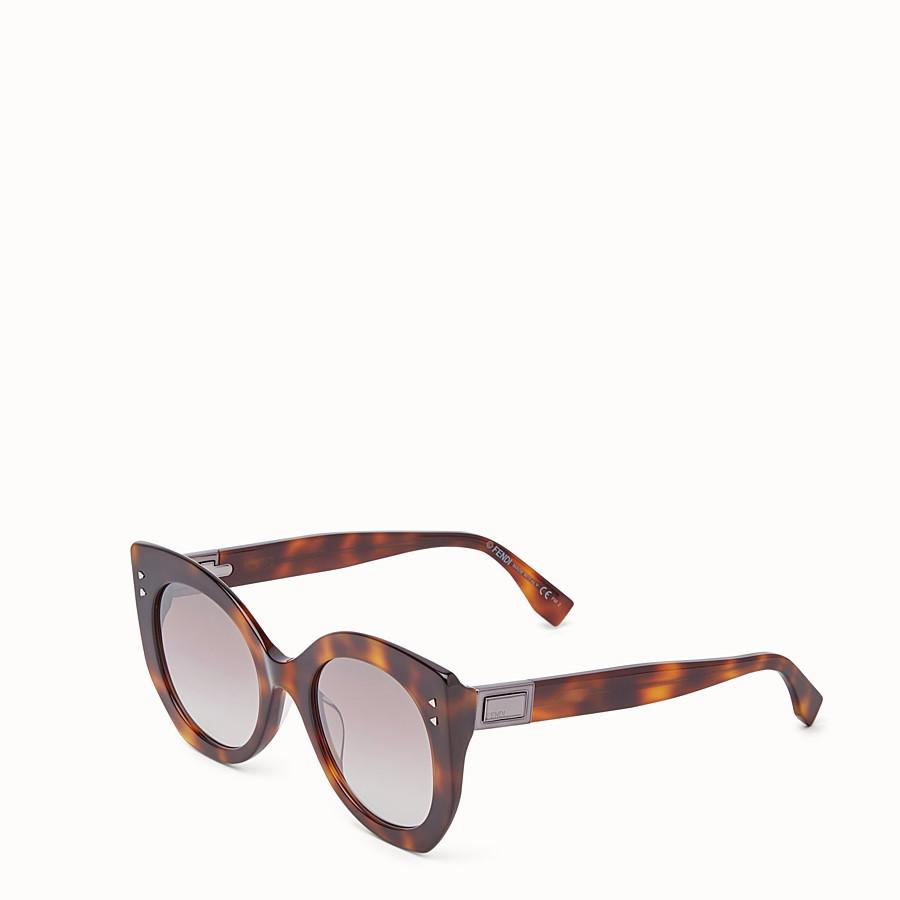 FENDI PEEKABOO - 琥珀棕色太陽眼鏡 - view 2 detail