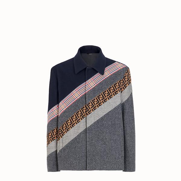 FENDI JACKET - Multicolour wool jacket - view 1 small thumbnail