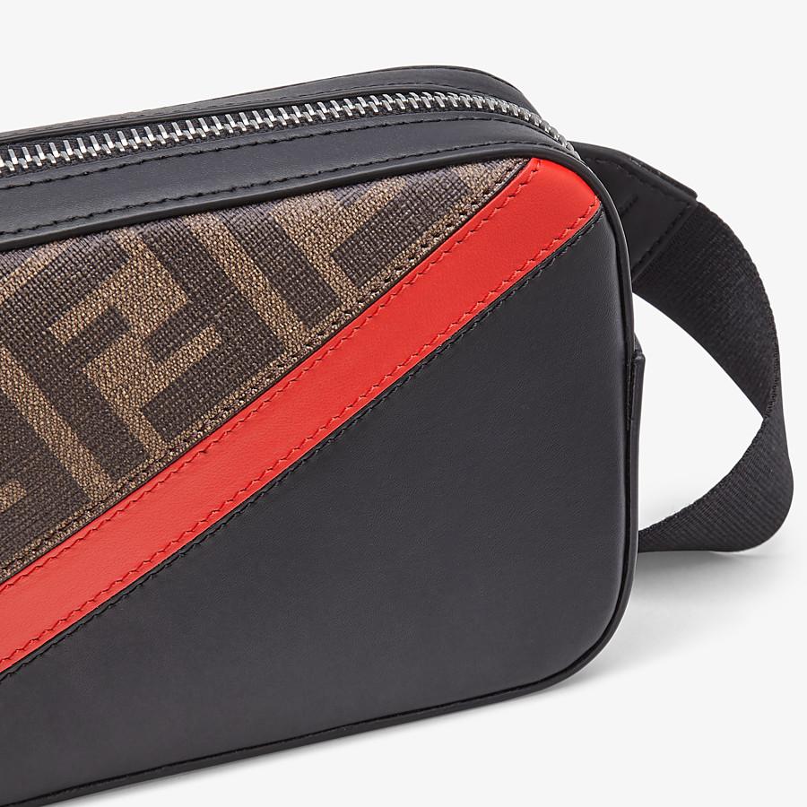 FENDI CAMERA CASE - Brown fabric bag - view 4 detail
