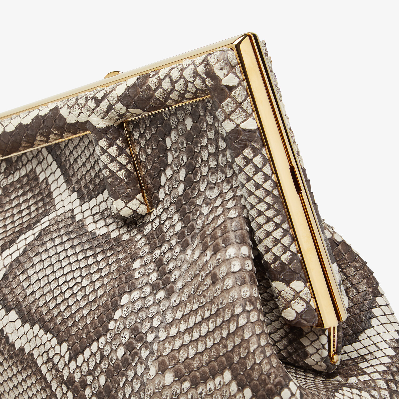 FENDI FENDI FIRST SMALL - Natural python leather bag - view 6 detail