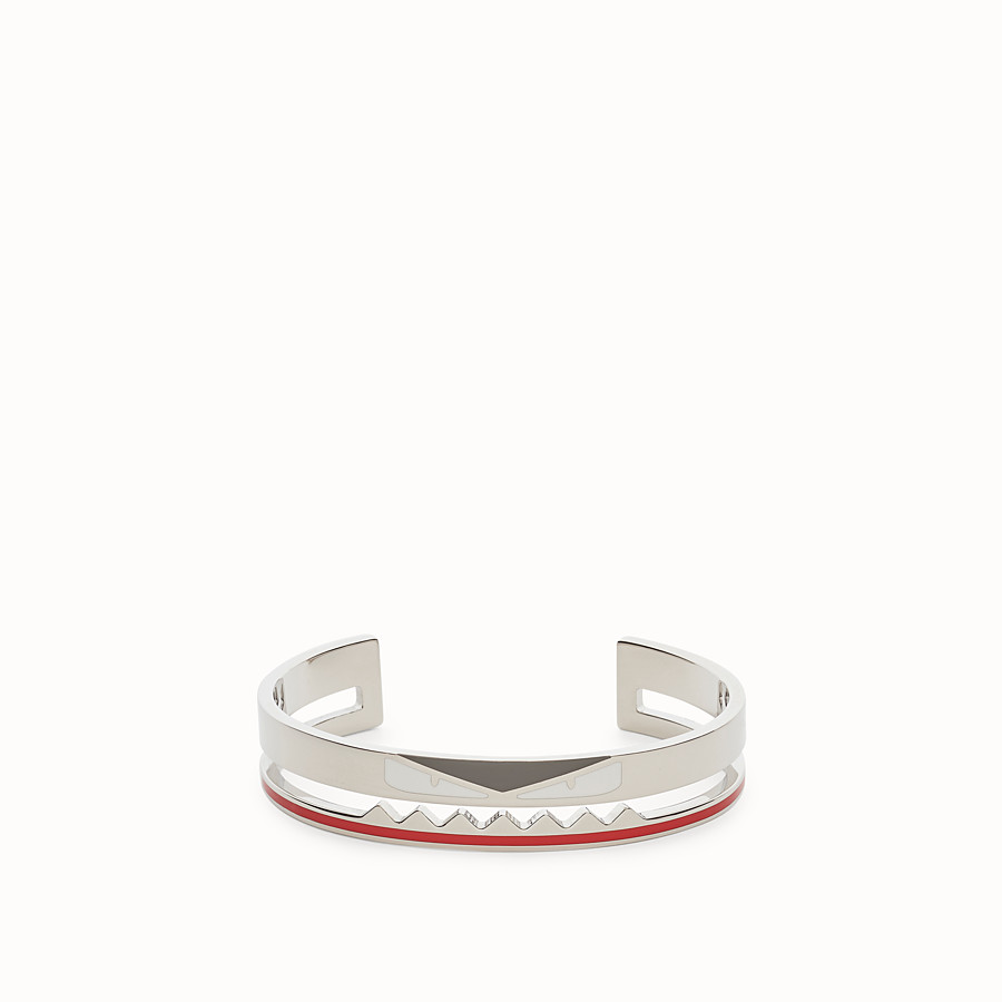 FENDI BRACELET - Silver coloured bracelet - view 1 detail