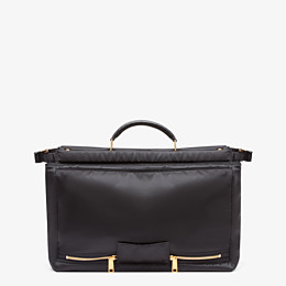 FENDI PEEKABOO MEDIUM FENDI AND PORTER - Black nylon bag - view 3 thumbnail