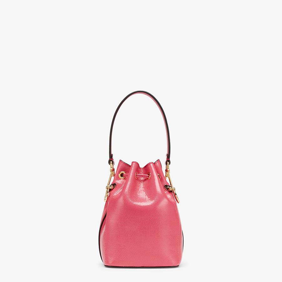 FENDI MON TRESOR - Mini-Tasche in Karung in Rosa - view 3 detail