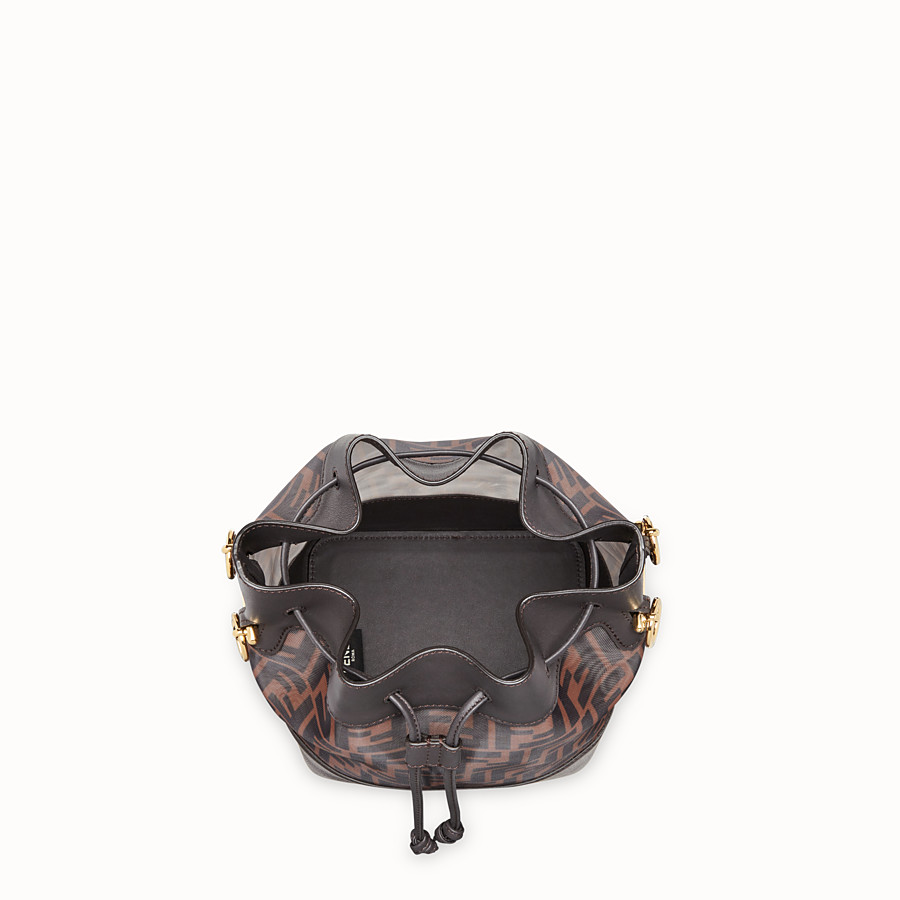FENDI MON TRESOR - Brown tech mesh bag - view 4 detail