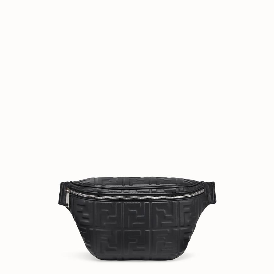 FENDI BELT BAG - Black nappa leather belt bag - view 1 detail