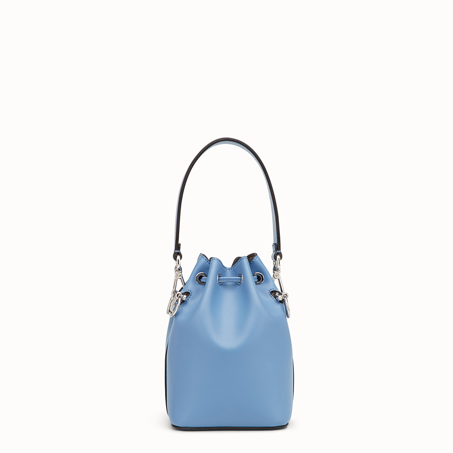 FENDI MON TRESOR - Pale blue leather minibag - view 3 detail
