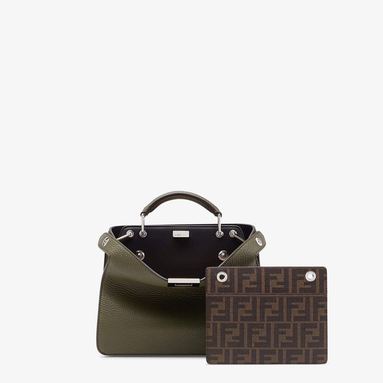 FENDI PEEKABOO ISEEU MINI - Green leather bag - view 2 detail