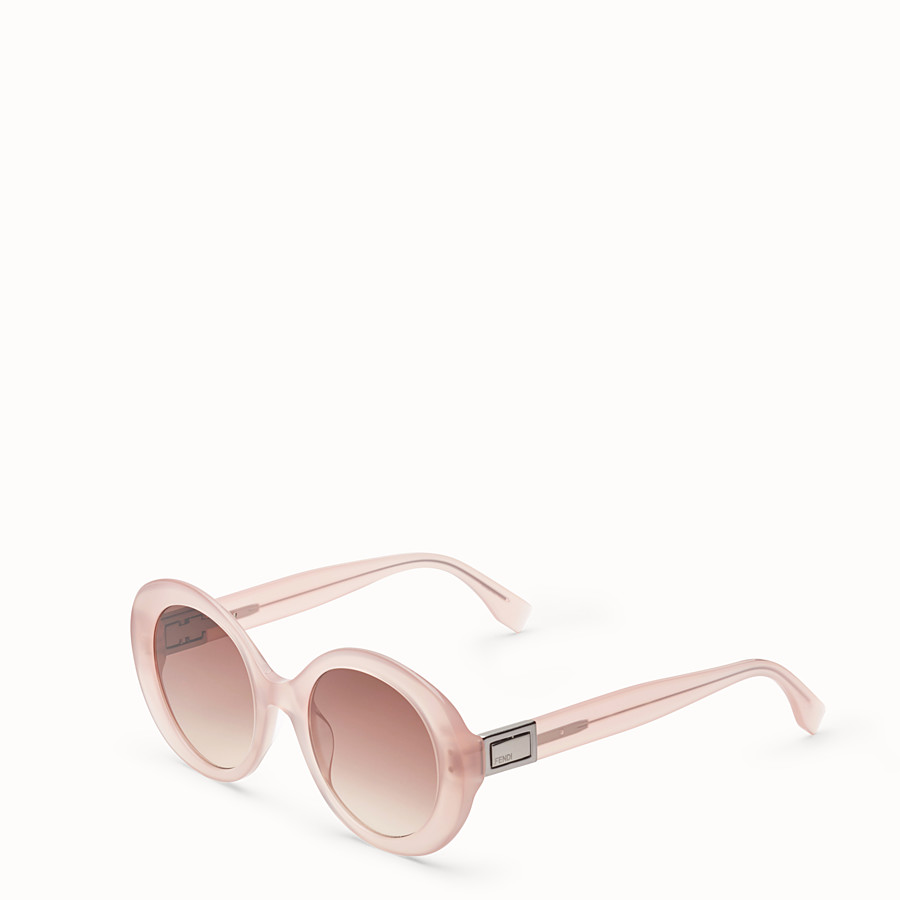 FENDI PEEKABOO - Pink sunglasses - view 2 detail
