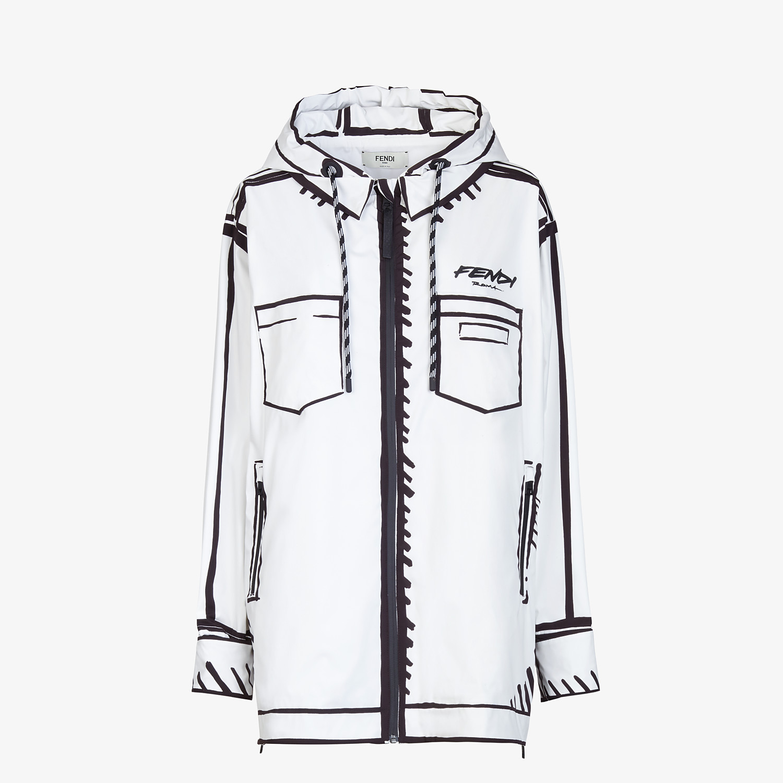 FENDI JACKET - Fendi Roma Joshua Vides tech fabric jacket - view 1 detail