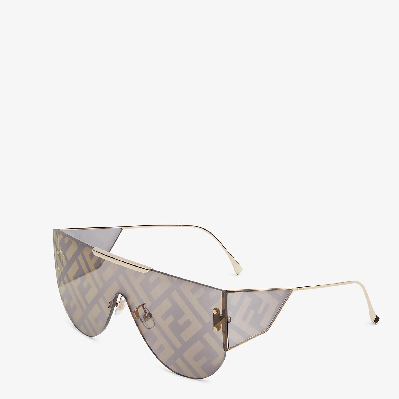 FENDI FABULOUS 2.0 - Gray sunglasses - view 2 detail