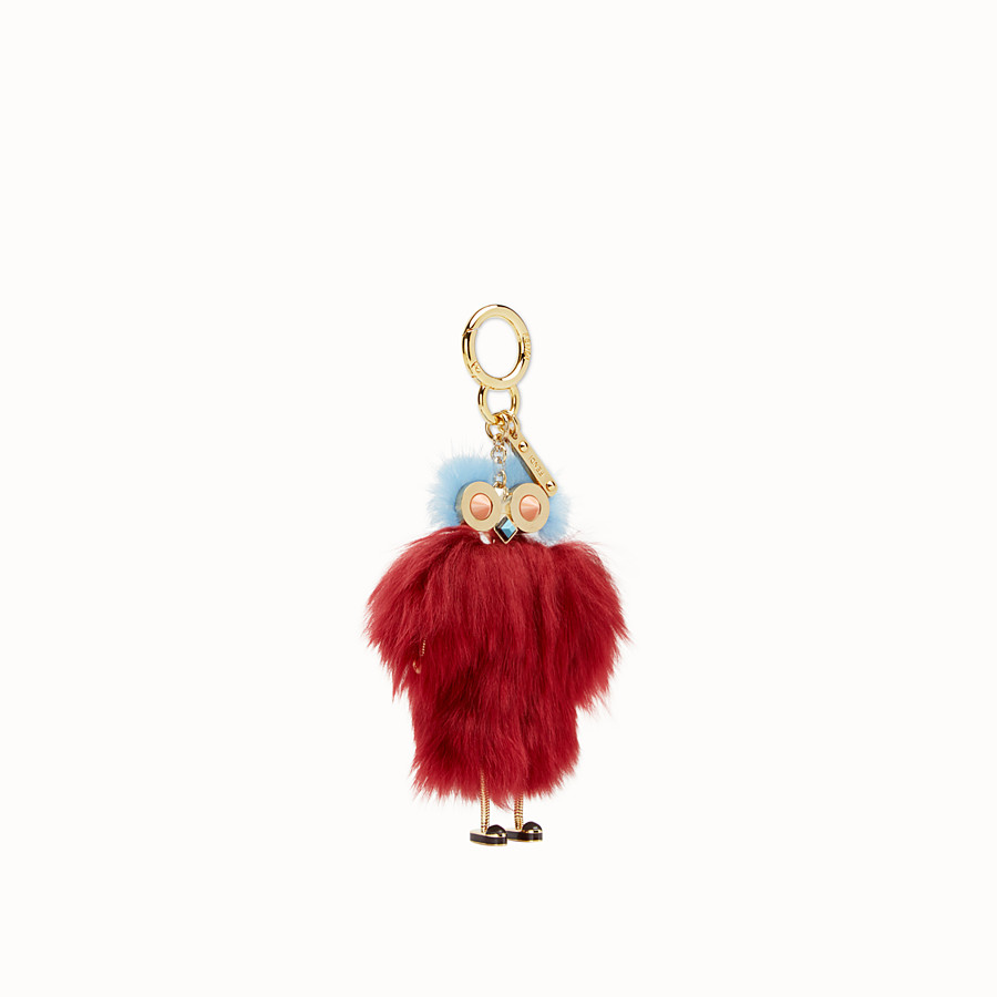 FENDI TEEN WITCHES CHARM - Red alpaca charm - view 1 detail