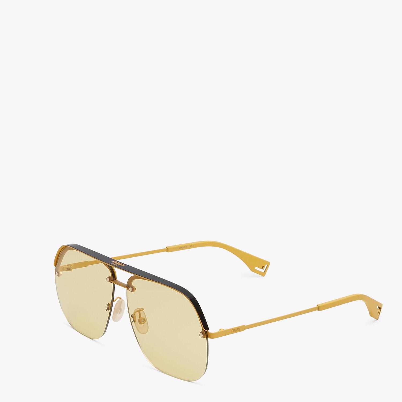 FENDI FENDI PACK - Yellow sunglasses - view 2 detail