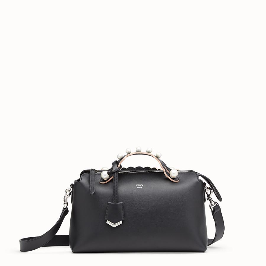 FENDI BY THE WAY REGULAR - Black leather Boston bag - view 1 detail