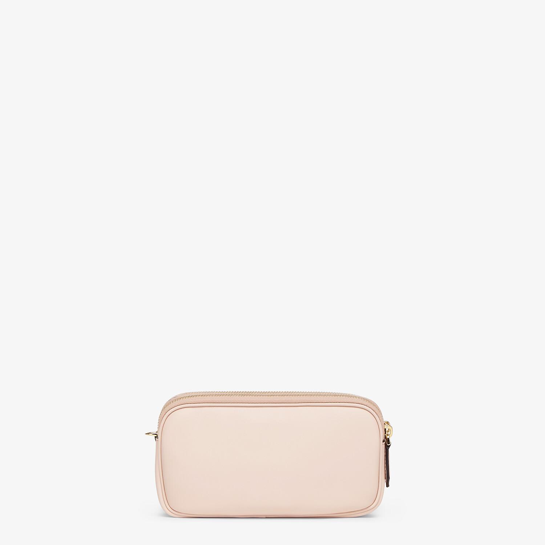 FENDI EASY 2 BAGUETTE - Pink leather mini bag - view 3 detail