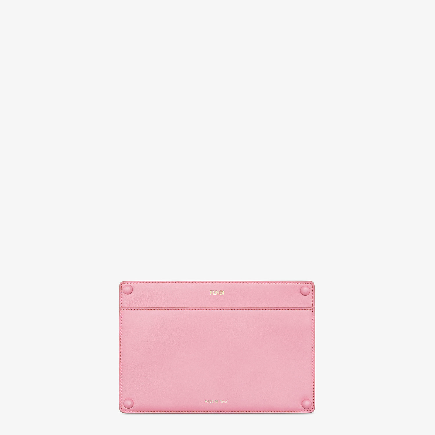 FENDI PEEKABOO ISEEU POCKET - Accessory pocket in pink leather - view 1 detail