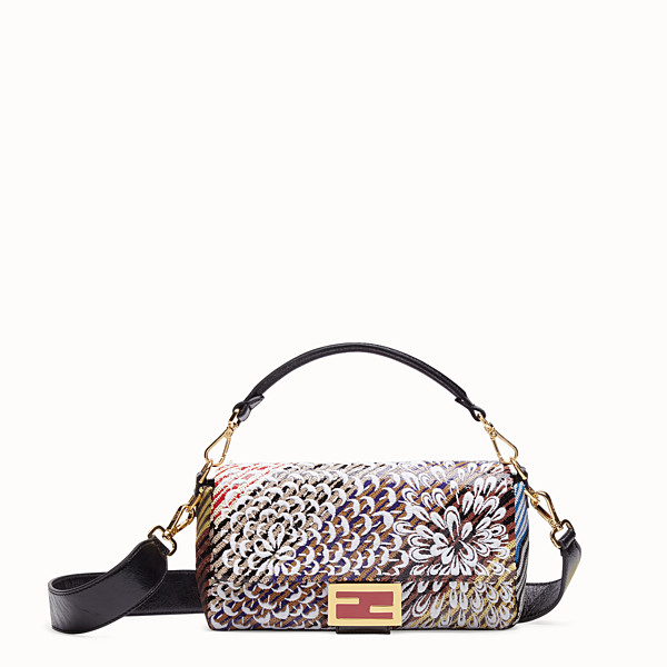 FENDI BAGUETTE - Multicolour sequin bag - view 1 small thumbnail