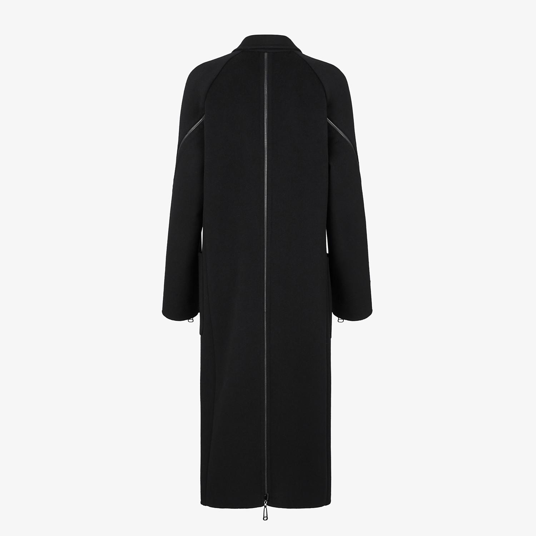 FENDI COAT - Black wool coat - view 2 detail