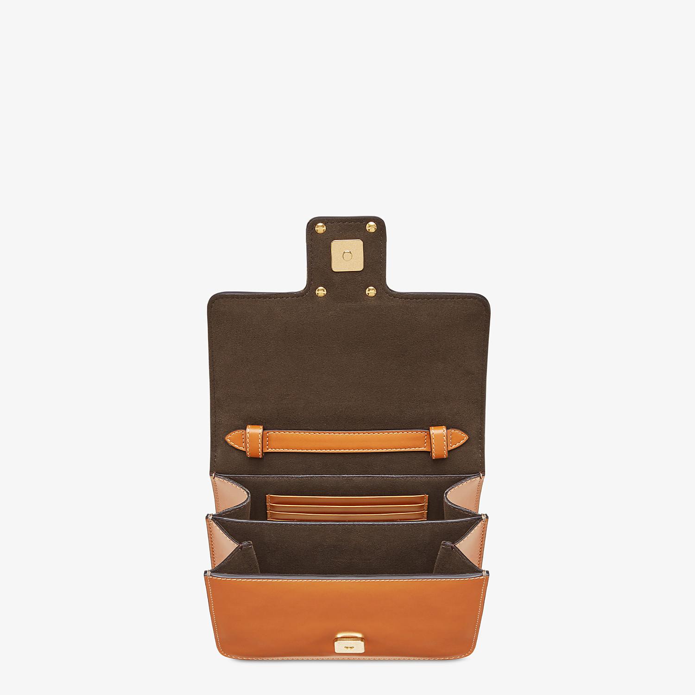 FENDI FENDI FAB - Brown leather bag - view 4 detail