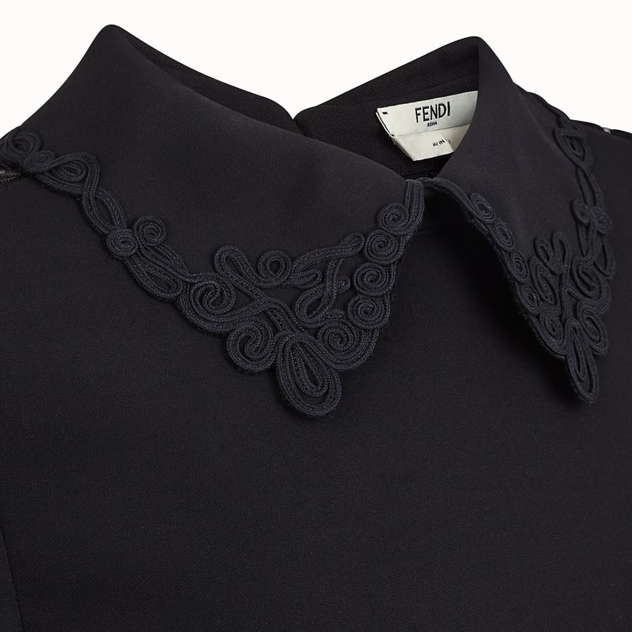 FENDI KLEID - Kleid aus Cady in Schwarz - view 3 detail