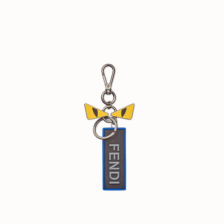 FENDI BAG CHARM - Keyring with eyes and tag - view 1 detail