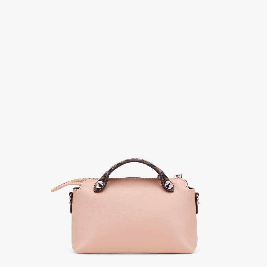 FENDI BY THE WAY MINI - Pink leather small Boston bag - view 4 detail