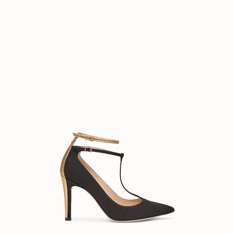 FENDI 高跟鞋 - 黑色羅緞高跟鞋 - view 1 detail
