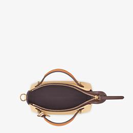 FENDI BY THE WAY MINI - Yellow leather small Boston bag - view 4 thumbnail