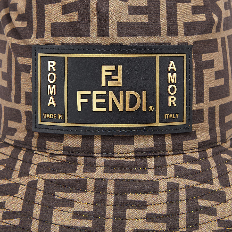 FENDI HAT - Multicolour fabric hat - view 2 detail