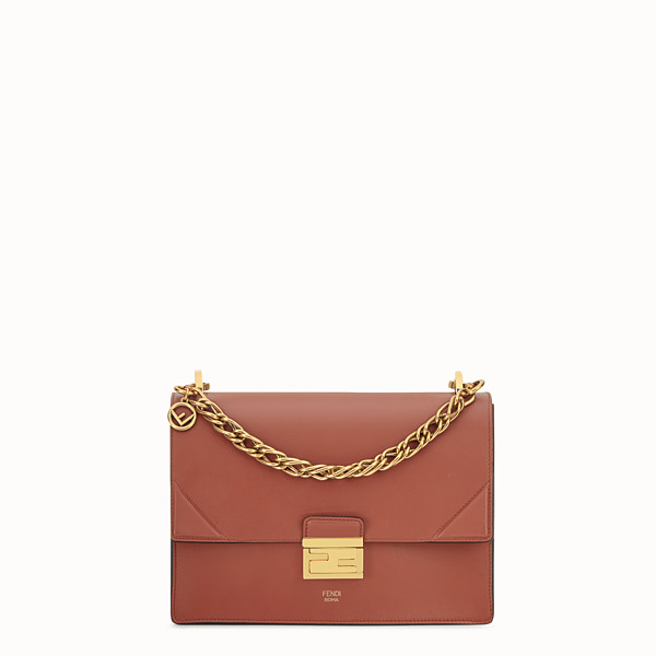 FENDI KAN U - Red leather bag - view 1 small thumbnail