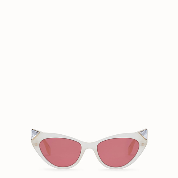 FENDI IRIDIA - Yellow opal sunglasses - view 1 small thumbnail