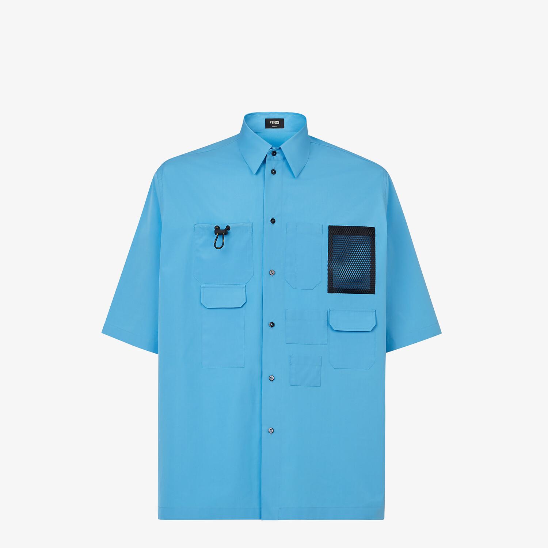 FENDI 恤衫 - 淺藍色府綢恤衫 - view 1 detail