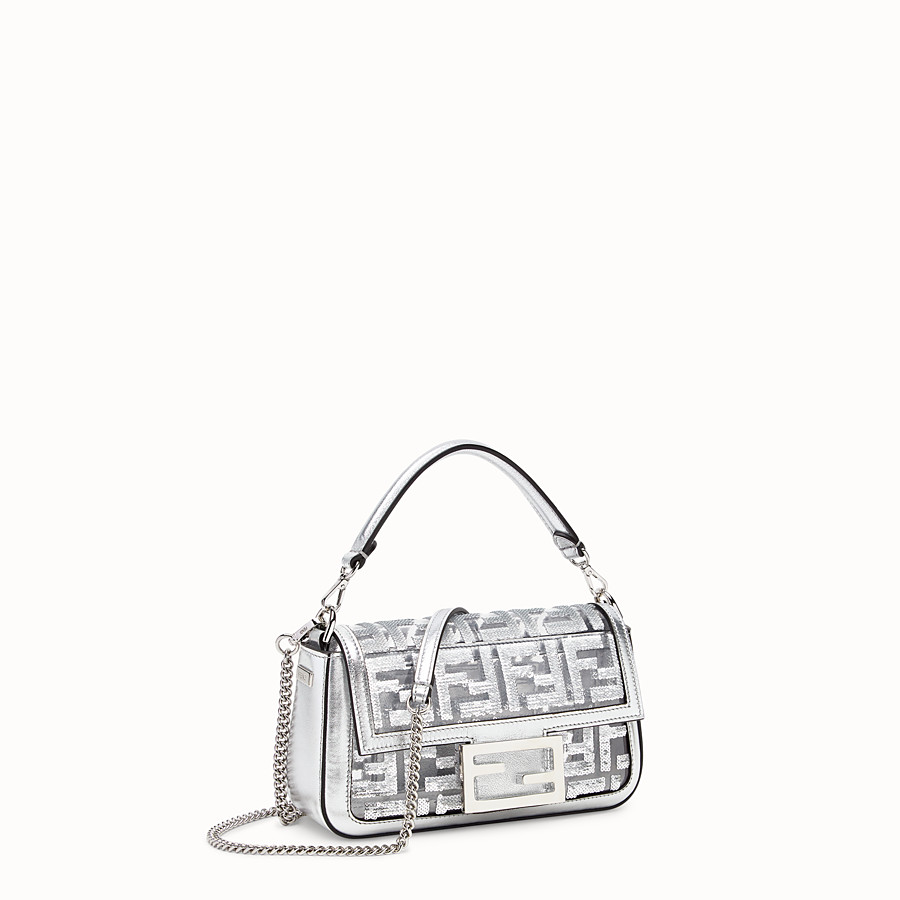 FENDI BAGUETTE MINI - Transparent PVC bag - view 2 detail