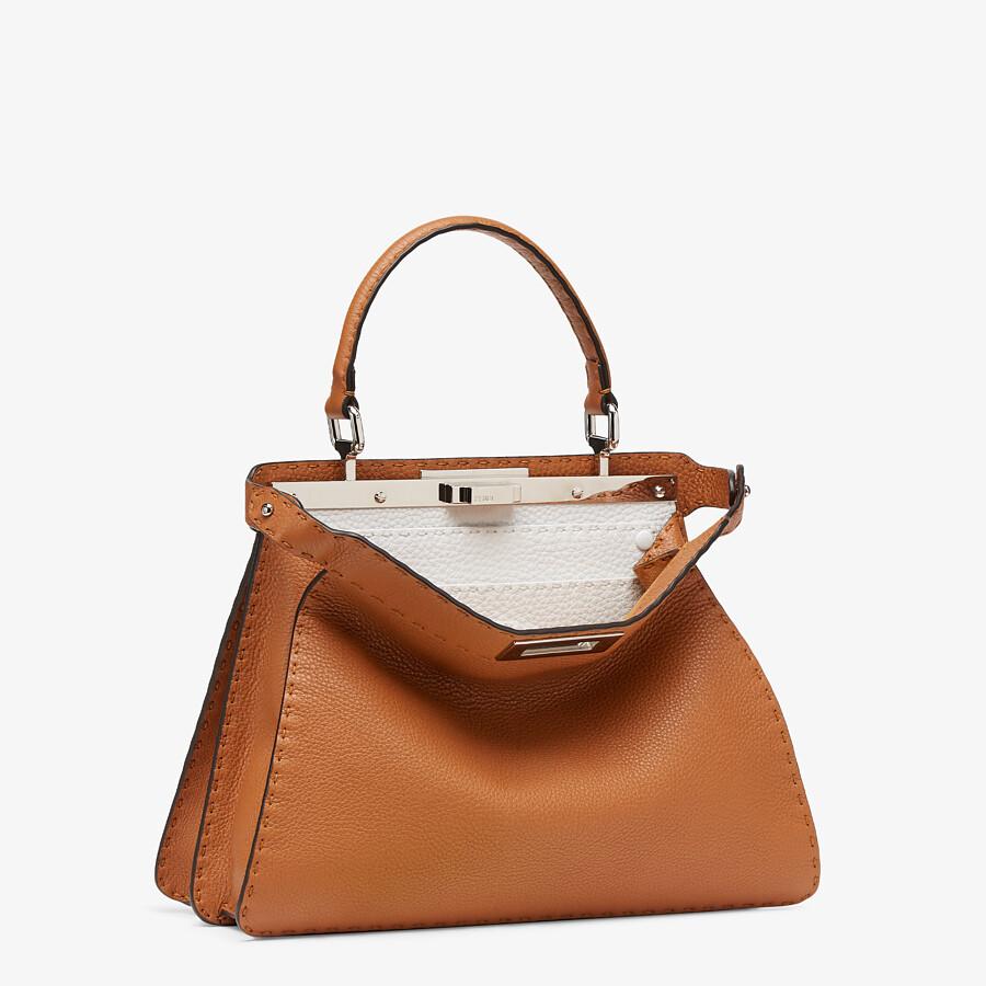 FENDI PEEKABOO ISEEU MEDIUM - Brown Selleria bag - view 4 detail