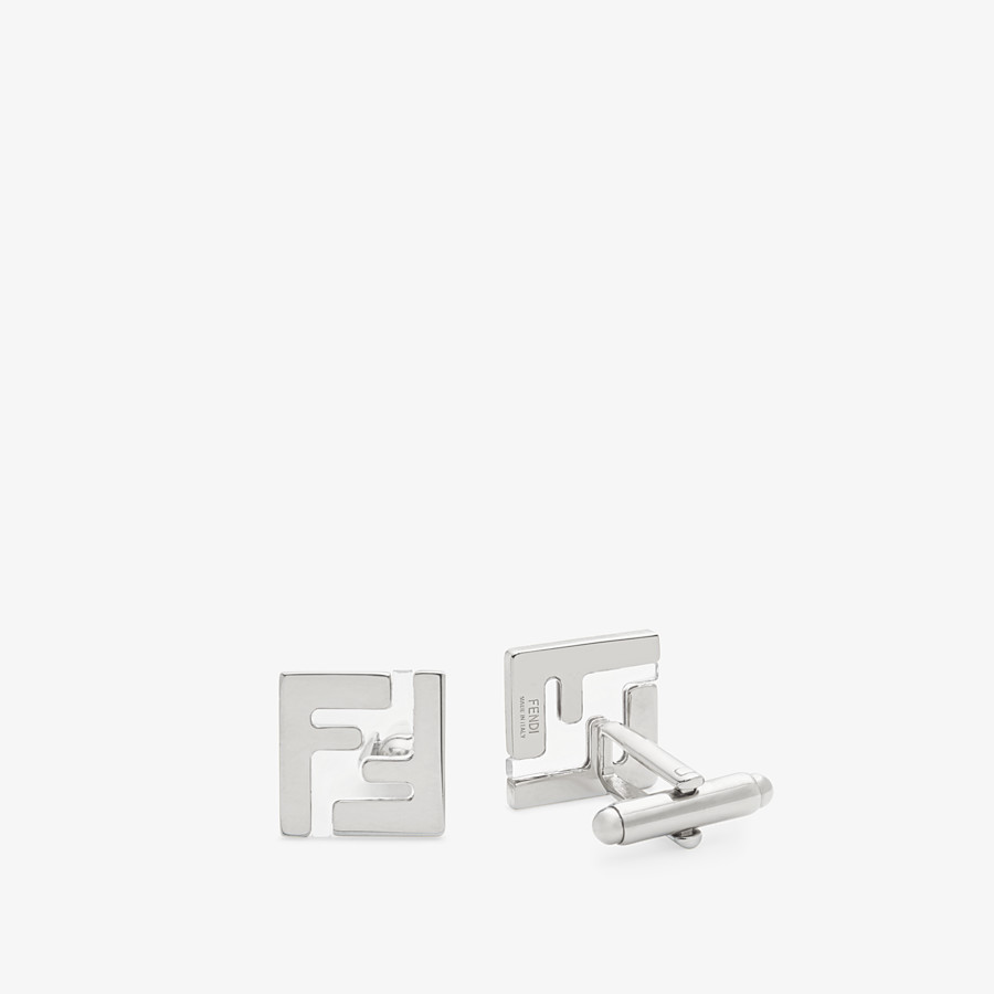 FENDI CUFFLINKS - Silver-coloured cufflinks - view 1 detail