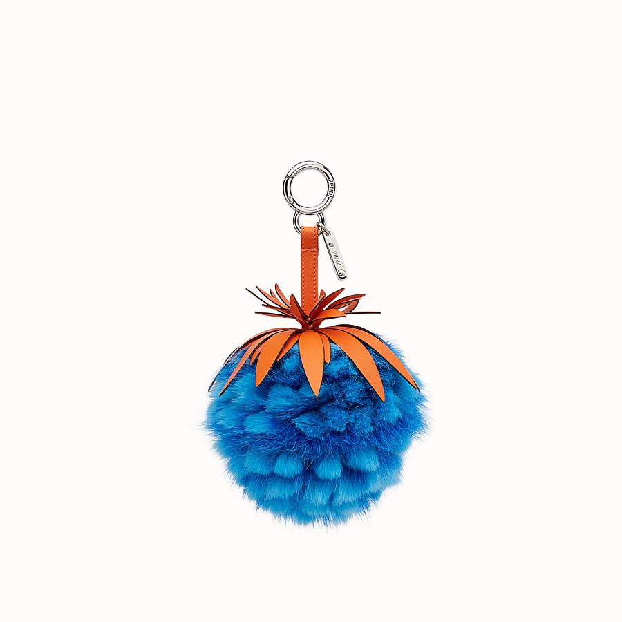 FENDI CHARM FENDI FRUITS - Charm de piel de zorro azul - view 1 detail