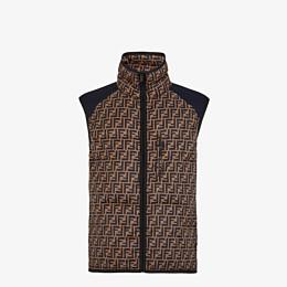 FENDI VEST - Multicolor tech fabric vest - view 1 thumbnail