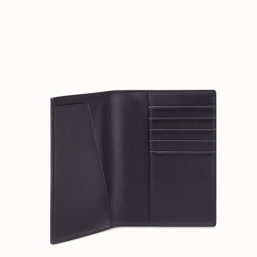 FENDI PASSPORT COVER - Brown fabric passport cover - view 3 detail
