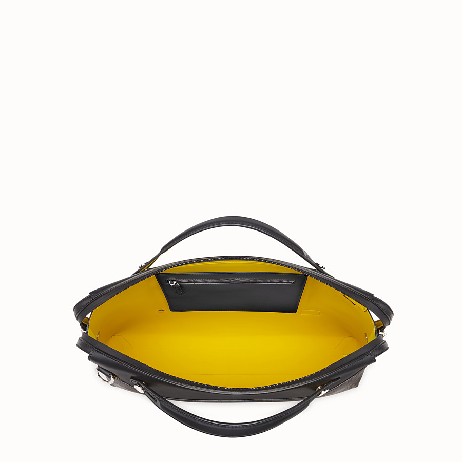 FENDI BY THE WAY - Brown fabric bag - view 4 detail