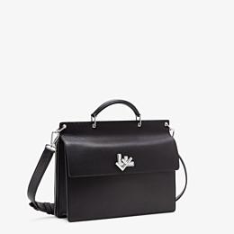 FENDI BUSINESS BAG - Black, calf leather bag - view 2 thumbnail