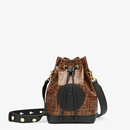 FENDI MON TRESOR - Tasche aus Stoff Mehrfarbig - view 1 thumbnail