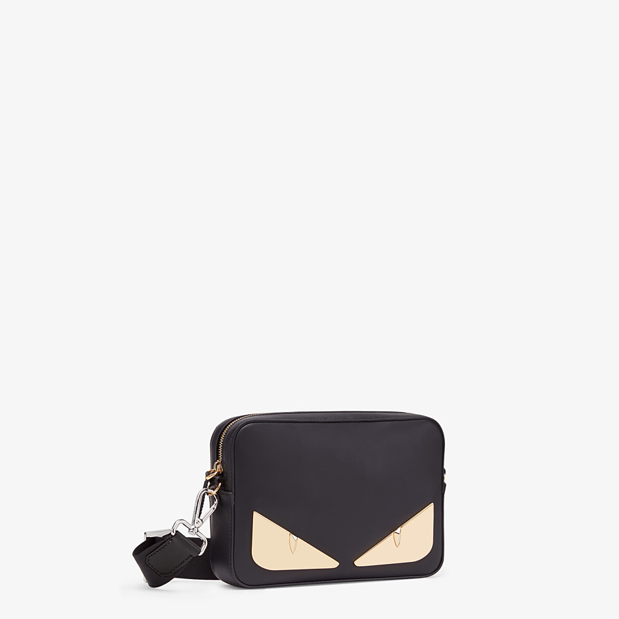 FENDI CAMERA CASE - Black, calf leather bag - view 2 detail