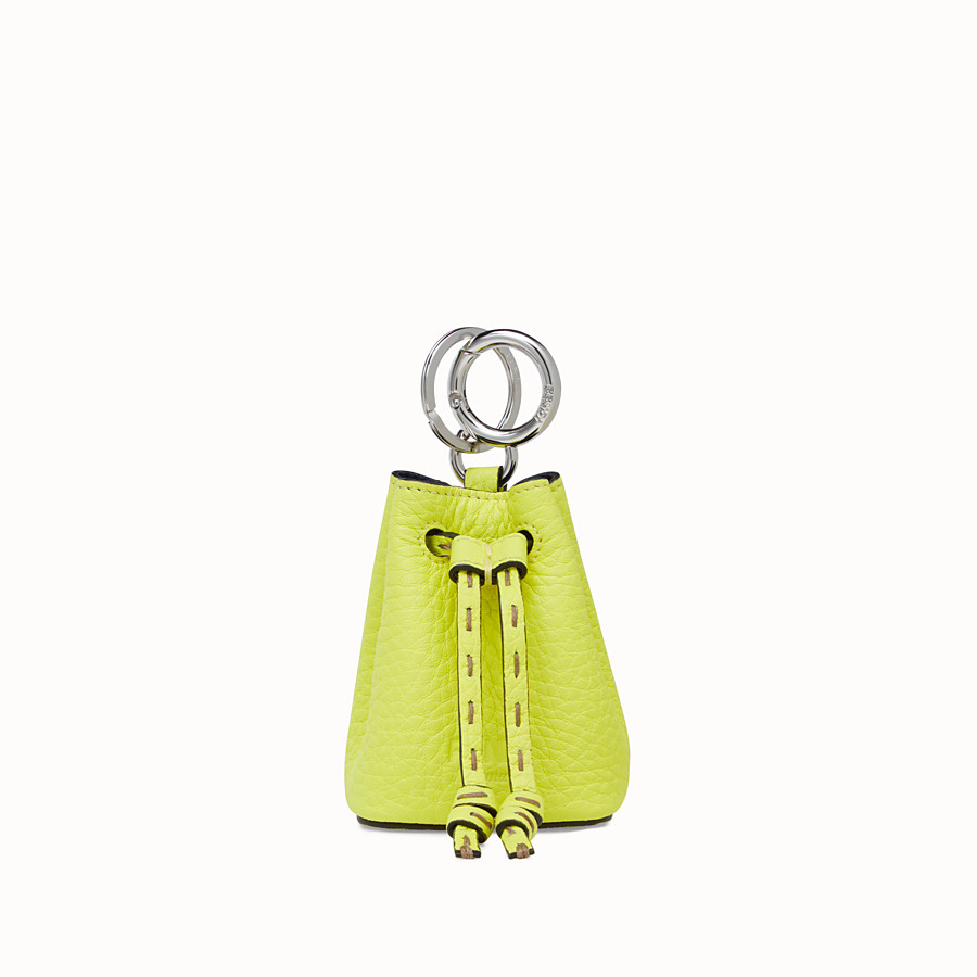 FENDI NANO MON TRESOR CHARM - Fendi Roma Amor leather charm - view 2 detail