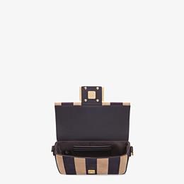 FENDI BAGUETTE - Brown nubuck leather bag - view 5 thumbnail