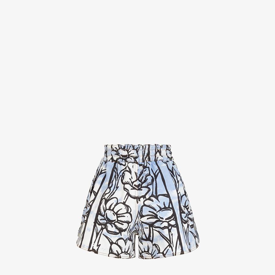 FENDI SHORTS - Fendi Roma Joshua Vides denim shorts - view 2 detail