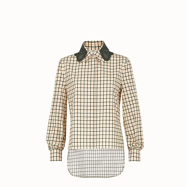 FENDI SHIRT - Multicolor cotton shirt - view 1 small thumbnail