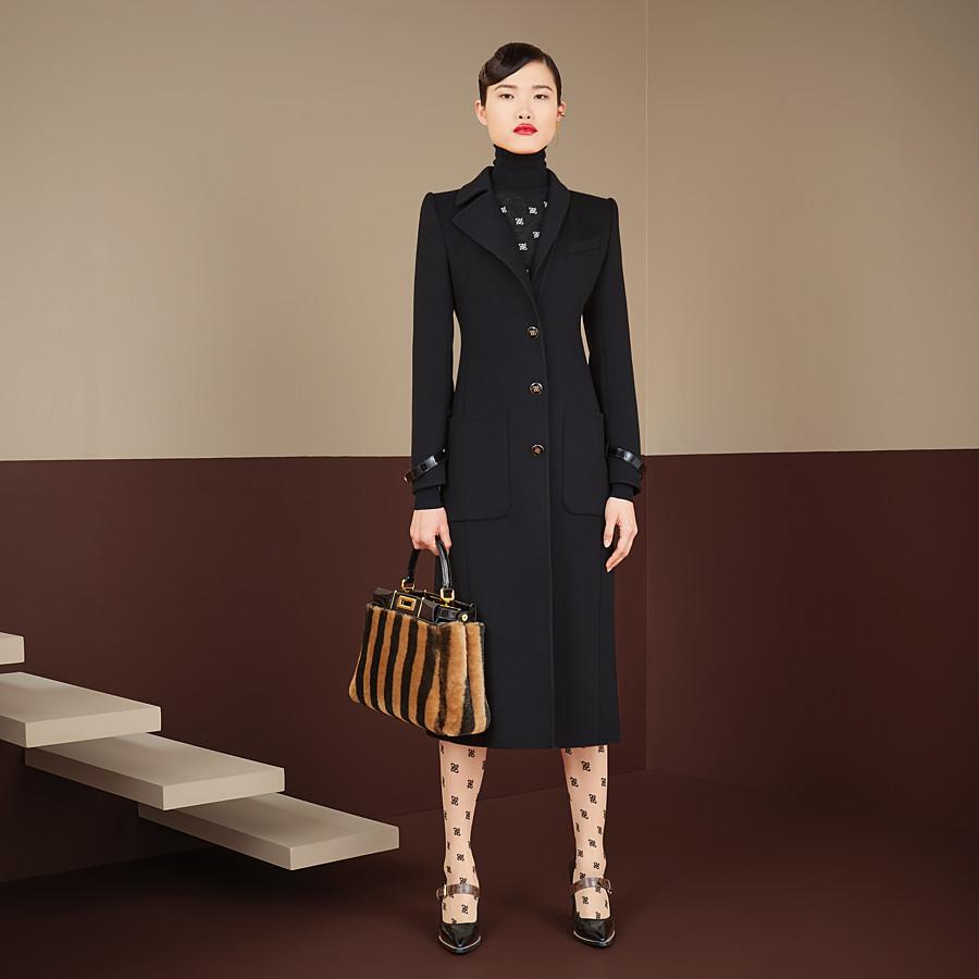 FENDI 外套 - 黑色羊毛外套 - view 4 detail