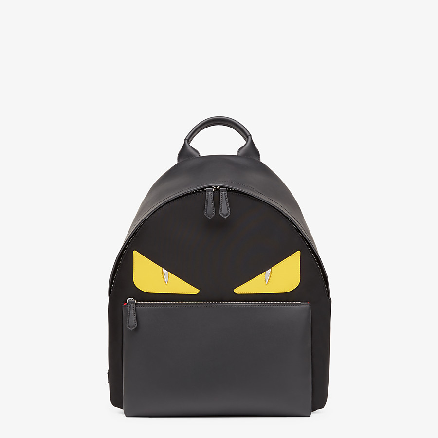 FENDI BACKPACK - Backpack in black nylon - view 1 detail